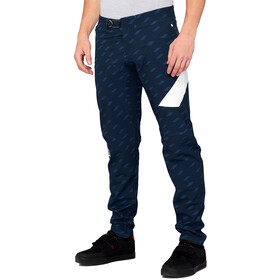 100% R-Core-X Limited DH Pantalon Homme, navy/white